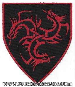 Large House Targaryen Heraldry