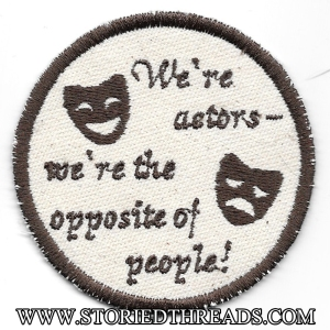 We're Actors Patch