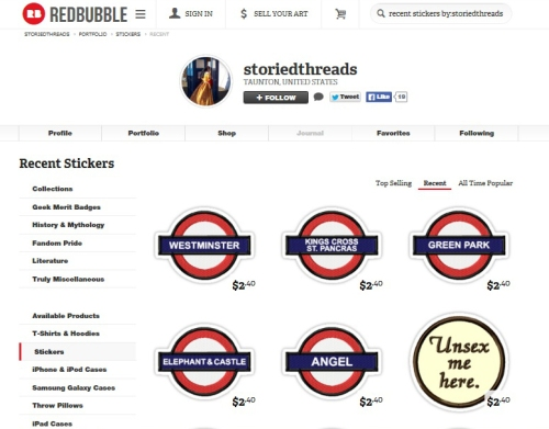 Tube Stickers